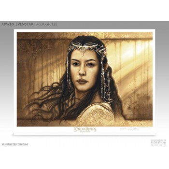 Lord of the Rings Fine Art Print Giclee Arwen Evenstar 43 x 56 cm